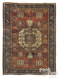 Kazak oriental carpet