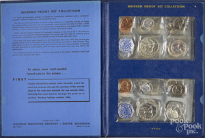US proof set collection 1956-1963, etc.