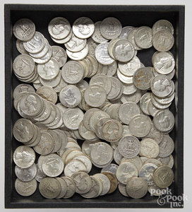 US silver quarters, 35 ozt.