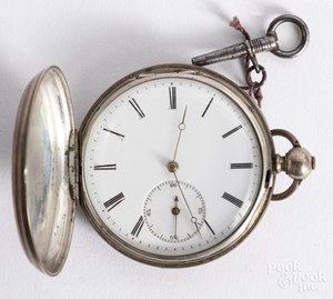 English pocket watch by Robert Roskell.