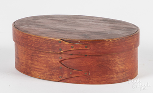Shaker stained bentwood pantry box