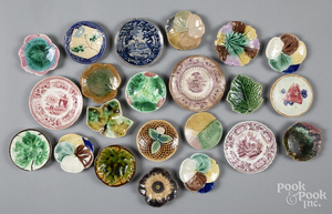 Collection of cup plates, etc.