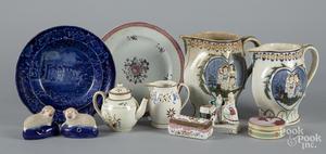 Miscellaneous porcelain, etc.