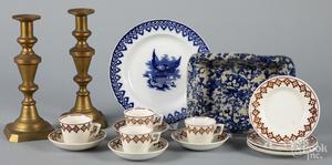 Group of miscellaneous porcelain, etc.