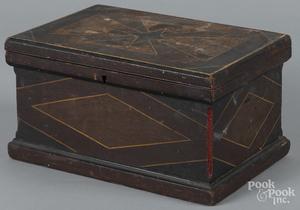 Painted pine dresser box