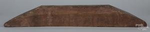 Berks County, Pennsylvania carved oak door header
