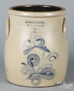 Three-gallon stoneware crock