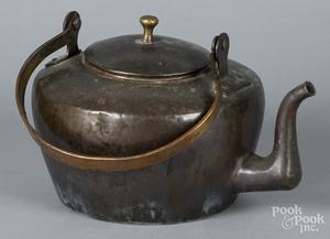 Connecticut copper tea kettle, etc.
