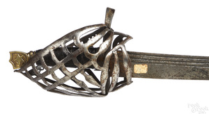 Northern Italian basket hilt sword