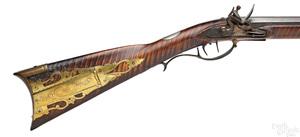 Thomas Allison full stock flintlock long rifle