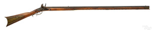 Western Pennsylvania flintlock long rifle