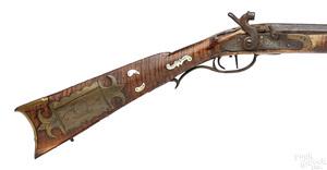 Thomas Ganoe flintlock long rifle
