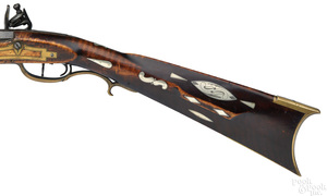 Thomas Douglass flintlock long rifle