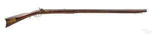 Full stock percussion long rifle