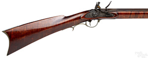 Peter & David Moll full stock flintlock long rifle