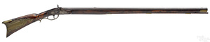 John Ford flintlock long rifle
