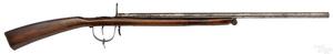 Primitive breech load percussion rifle