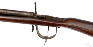 Primitive breech load percussion rifle