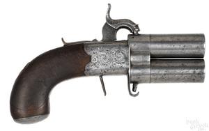 London percussion pistol