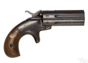Seven shot pepperbox pistol