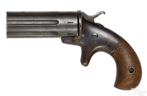 Seven shot pepperbox pistol