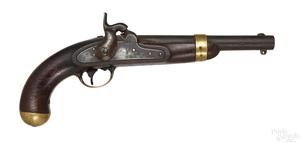 US H. Aston & Co. model 1842 percussion pistol