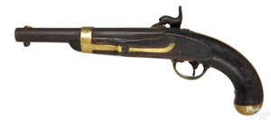 US H. Aston & Co. model 1842 percussion pistol