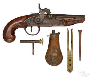 Percussion pistol