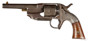 Allen & Wheelock Navy model percussion revolver