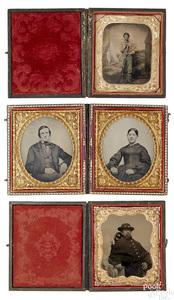 Two Civil War soldier tintypes