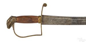 Eagle head sword