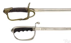 Two American swords