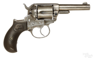 Colt model 1877 Thunder six shot revolver