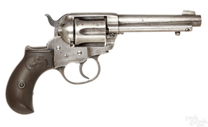 Colt model 1877 Lightning six shot revolver