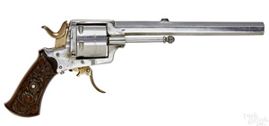 Belgian The Young Lion 1881 New Pattern revolver