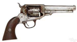Scarce W. Irving second model percussion revolver