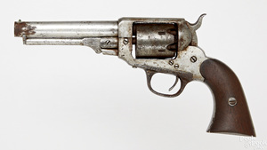 Scarce W. Irving second model percussion revolver