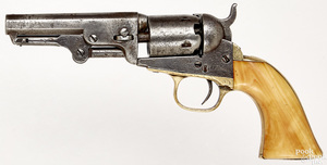 Colt model 1849 five shot pocket revolver