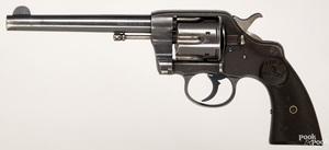 Colt model 1895 double action six shot revolver
