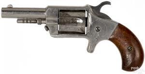 Jacob Rupertus nickel plated revolver