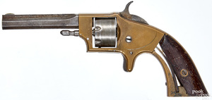 Smith & Wesson by Rollin White Arms Co. revolver