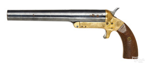 Brass frame flare pistol