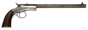 Stevens single shot tip-up pistol