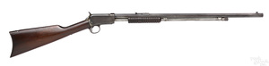 Winchester model 90 pump action takedown rifle