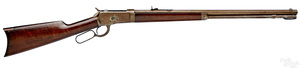 Winchester model 1892 lever action takedown rifle