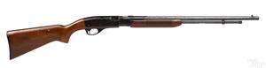 Remington model 572 pump action rifle