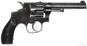 Smith & Wesson six shot revolver