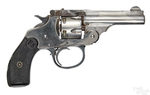 US Revolver Co. nickel plated break top revolver