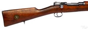 Mauser model 96-38 bolt action rifle