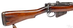 British SMLE MKI bolt action rifle